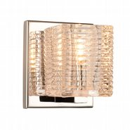 w23449c4 Candella 1 Light Chrome Finish G9 Wall Sconce