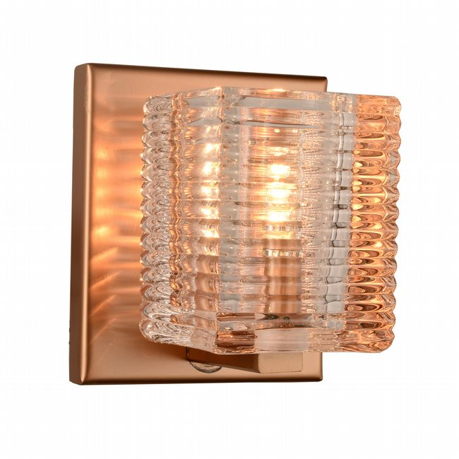 w23449mg4 Candella 1 Light Matte Gold Finish G9 Wall Sconce - Discontinued