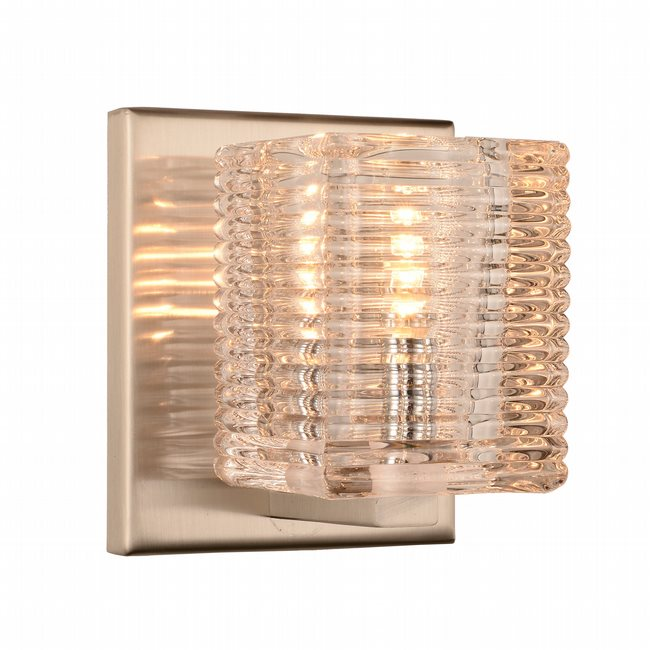 w23449mn4 Candella 1 Light Matte Nickel Finish G9 Wall Sconce - Discontinued