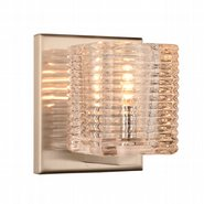 w23449mn4 Candella 1 Light Matte Nickel Finish G9 Wall Sconce