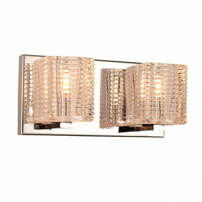 w23450c10 Candella 2 Light Chrome Finish G9 Wall Sconce - Discontinued