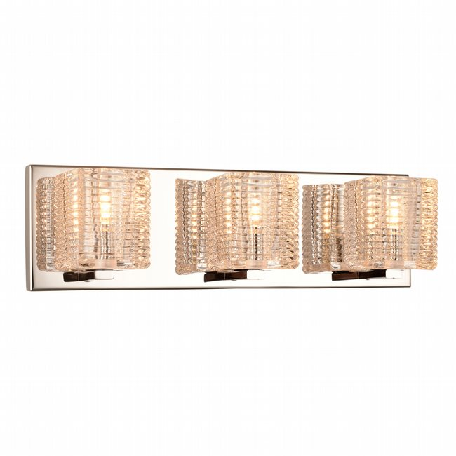 w23451c17 Candella 3 Light Chrome Finish G9 Wall Sconce - Discontinued