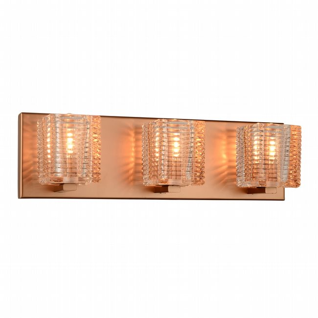 w23451mg17 Candella 3 Light Matte Gold Finish G9 Wall Sconce - Discontinued