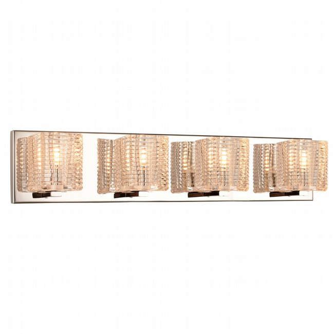 w23452c22 Candella 4 Light Chrome Finish G9 Wall Sconce