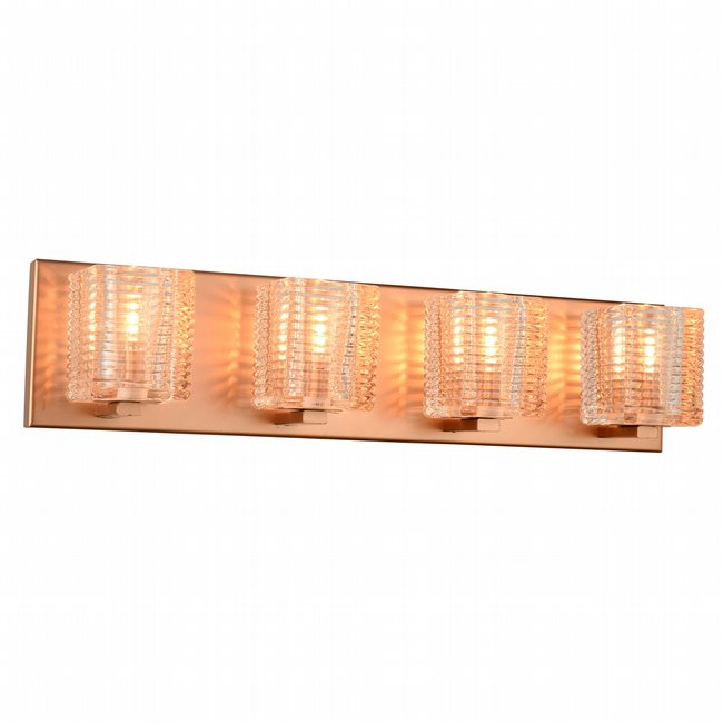 w23452mg22 Candella 4 Light Matte Gold Finish G9 Wall Sconce - Discontinued
