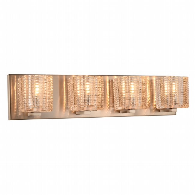 w23452mn22 Candella 4 Light Matte Nickel Finish G9 Wall Sconce