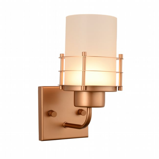w23454mg5 Potomac 1 Light Matte Gold Finish LED Wall Sconce - Discontinued