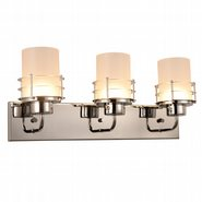 w23456c22 Potomac 3 Light Chrome Finish LED Wall Sconce