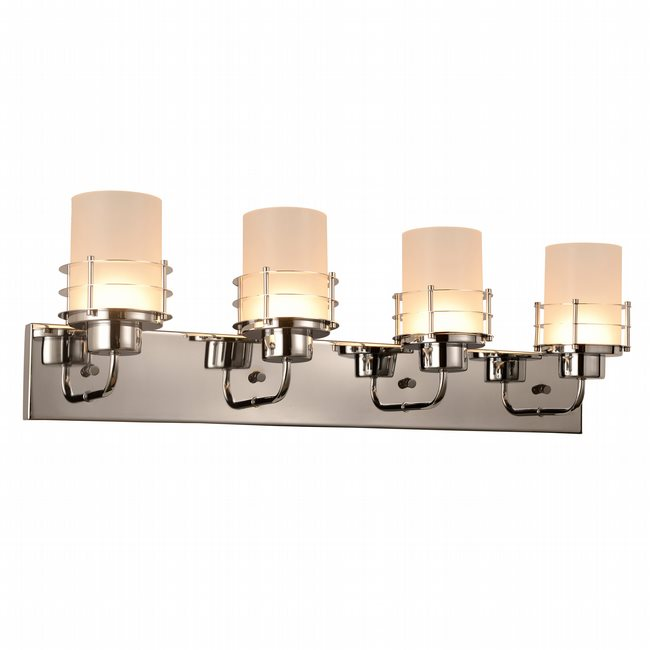 w23457c30 Potomac 4 Light Chrome Finish LED Wall Sconce