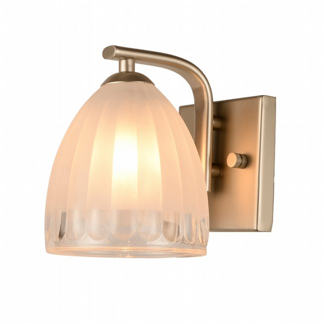 w23459mn5 Blossom 1 Light Matte Nickel Finish G9 Wall Sconce - Discontinued