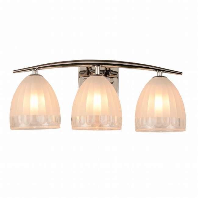 w23461c18 Blossom 3 Light Chrome Finish G9 Wall Sconce - Discontinued