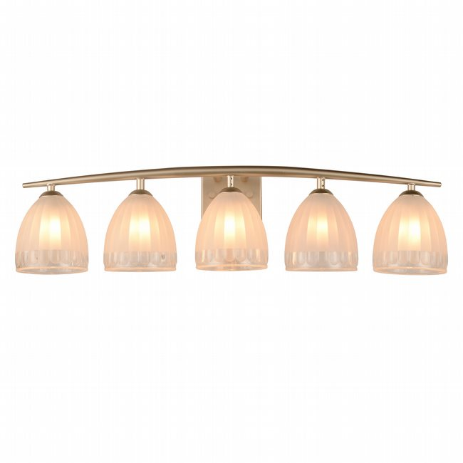 w23463mn30 Blossom 5 Light Matte Nickel Finish G9 Wall Sconce - Discontinued