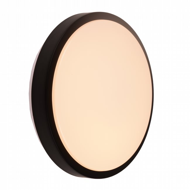 W23561MB13 Aperture Matte Black Opal (Acrylic) Wall Sconce/Ceiling Light, LEDx18W, 3500K