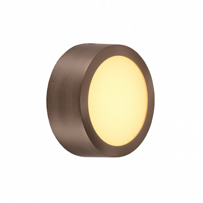W23563BP4 Aperture Bronze Opal (Acrylic) Wall Sconce/Ceiling Light, LEDx9W, 3500K