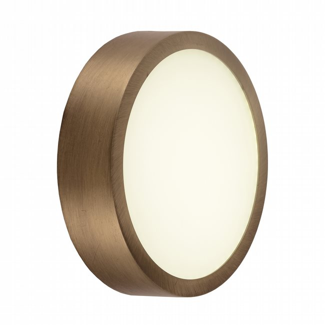 w23564bp6 Aperture Bronze Opal (Acrylic) Wall Sconce/Ceiling Light, LEDx12W, 3500K
