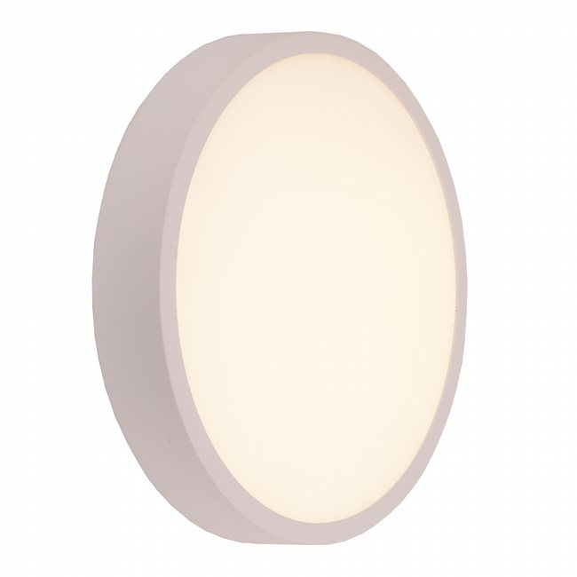 W23566MW9 Aperture Matte White Opal (Acrylic) Wall Sconce/Ceiling Light, LEDx24W, 3500K
