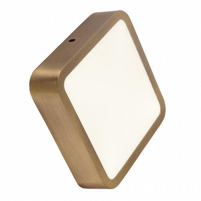 W23567BP6 Aperture Bronze Opal (Acrylic) Wall Sconce/Ceiling Light, LEDx12W, 3500K