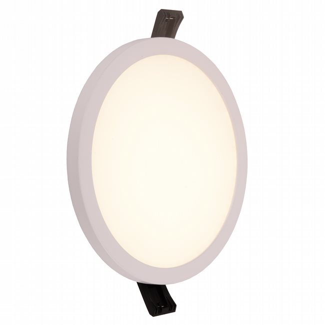 W23662MW6 Kyoto Matte White Opal (Acrylic) Wall Sconce/Ceiling Light, LEDx12W, D6H0.5, 3500K, ADA - Discontinued