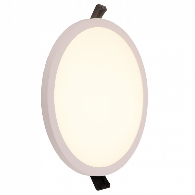 W23663MW7 Kyoto Matte White Opal (Acrylic) Wall Sconce/Ceiling Light, LEDx18W, D7H0.5, 3500K, ADA - Discontinued
