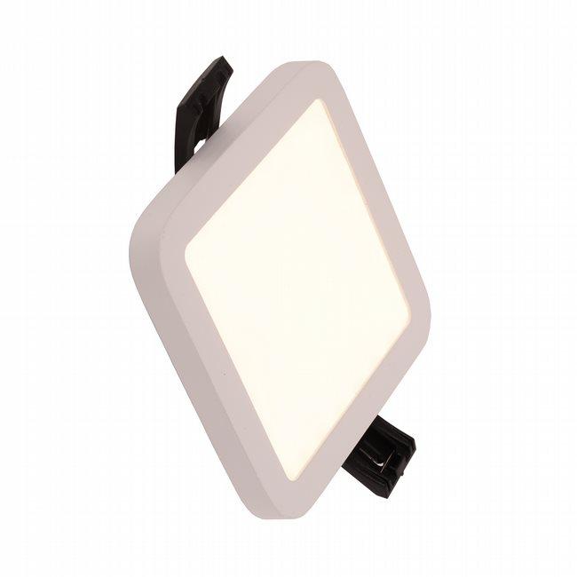 W23665MW4 Kyoto Matte White Opal (Acrylic) Wall Sconce/Ceiling Light, LEDx6W, W4x4H0.5, 3500K, ADA