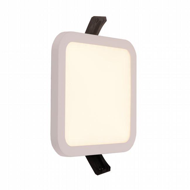 W23666MW5 Kyoto Matte White Opal (Acrylic) Wall Sconce/Ceiling Light, LEDx9W, W5x5H0.5, 3500K, ADA