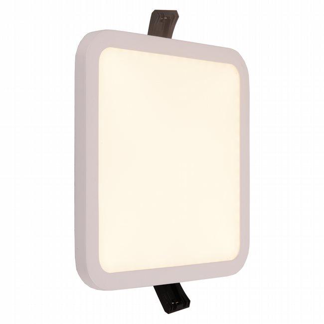 W23667MW6 Kyoto Matte White Opal (Acrylic) Wall Sconce/Ceiling Light, LEDx12W, W6x6H0.5, 3500K, ADA - Discontinued