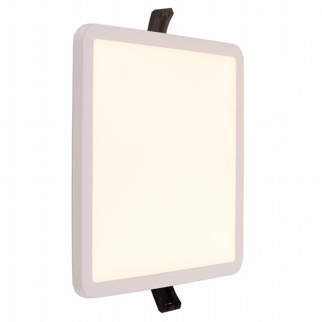 W23668MW7 Kyoto Matte White Opal (Acrylic) Wall Sconce/Ceiling Light, LEDx18W, W7x7H0.5, 3500K, ADA - Discontinued