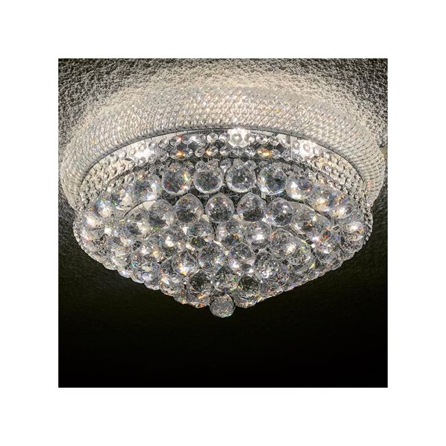 W33011c20 empire 10 light chrome finish with clear crystal flush w33011c20 empire 10 light chrome finish with clear crystal flush mount ceiling light aloadofball Image collections