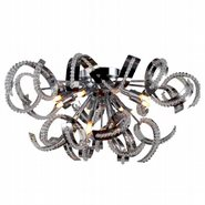 W33112C22 Medusa 12 light Chrome Finish with Clear Crystal Ceiling Light