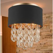 w33270mg12 Halo 3 Light Matte Gold Finish Ceiling Light