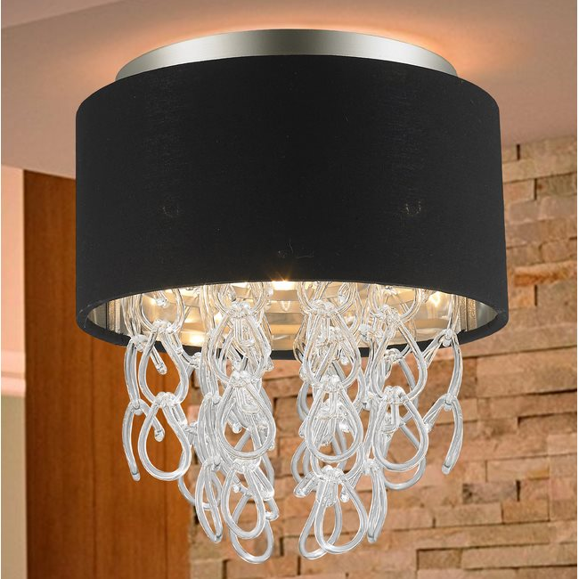 w33270mn12 Halo 3 Light Matte Nickel Finish Ceiling Light - Discontinued