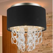 w33270mn12 Halo 3 Light Matte Nickel Finish Ceiling Light