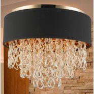 w33272cg20 Halo 6 Light Champagne Finish Ceiling Light