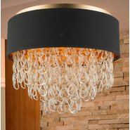 w33272mg20 Halo 6 Light Matte Gold Finish Ceiling Light