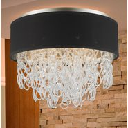 w33272mn20 Halo 6 Light Matte Nickel Finish Ceiling Light