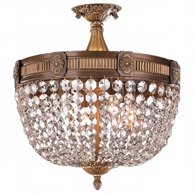 Cl winchester 4 light antique bronze finish crystal semi flush mount w33353b16 cl winchester 4 light antique bronze finish crystal semi flush mount aloadofball Choice Image