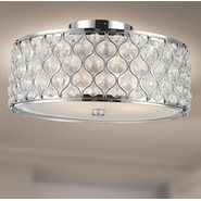 w33410c16 Paris 4 Light Chrome Finish Ceiling Light