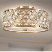 w33410cg16 Paris 4 Light Champagne Finish Ceiling Light