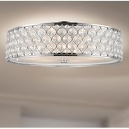 w33411c24 Paris 6 Light Chrome Finish Ceiling Light