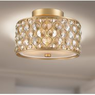 w33412mg12 Paris 3 Light Matte Gold Finish Ceiling Light