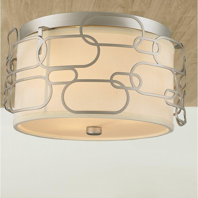 w33440mn14 Montauk 3 Light Matte Nickel Finish Ceiling Light