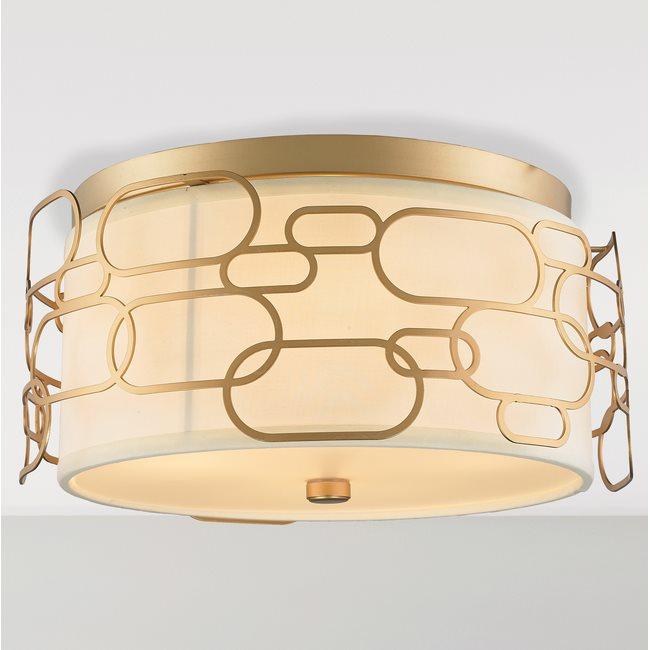 w33441mg16 Montauk 4 Light Matte Gold Finish Ceiling Light