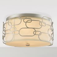 Montauk 4 Light Matte Nickel Finish Ceiling Light