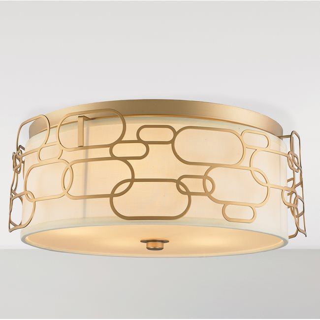 w33442mg20 Montauk 5 Light Matte Gold Finish Ceiling Light