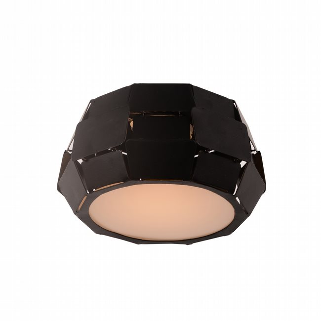 W33540MB6 Mosaic Matte Black Opal (Acrylic) Ceiling Light, LEDx6W, 3500K - Discontinued