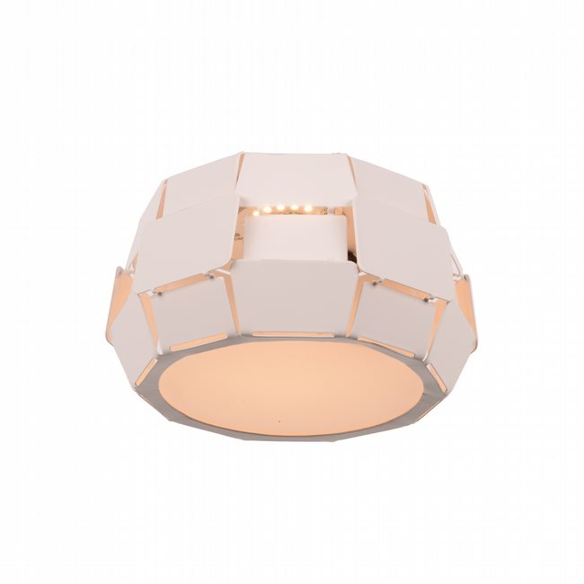 W33540MW6 Mosaic Matte White Opal (Acrylic) Ceiling Light, LEDx6W, 3500K - Discontinued