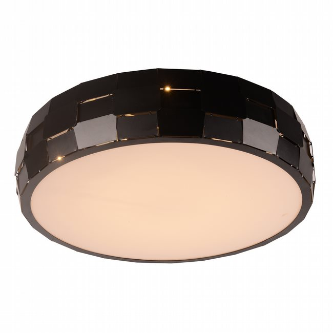 W33542MB19 Mosaic Matte Black Opal (Acrylic) Ceiling Light, LEDx36W, 3500K - Discontinued