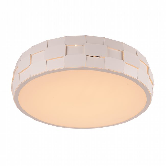 W33542MW19 Mosaic Matte White Opal (Acrylic) Ceiling Light, LEDx36W, 3500K - Discontinued