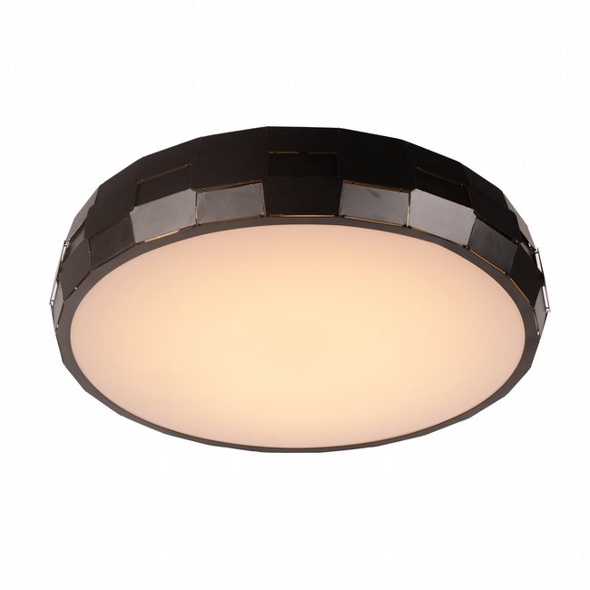 W33543MB23 Mosaic Matte Black Opal (Acrylic) Ceiling Light, LEDx36W, 3500K - Discontinued