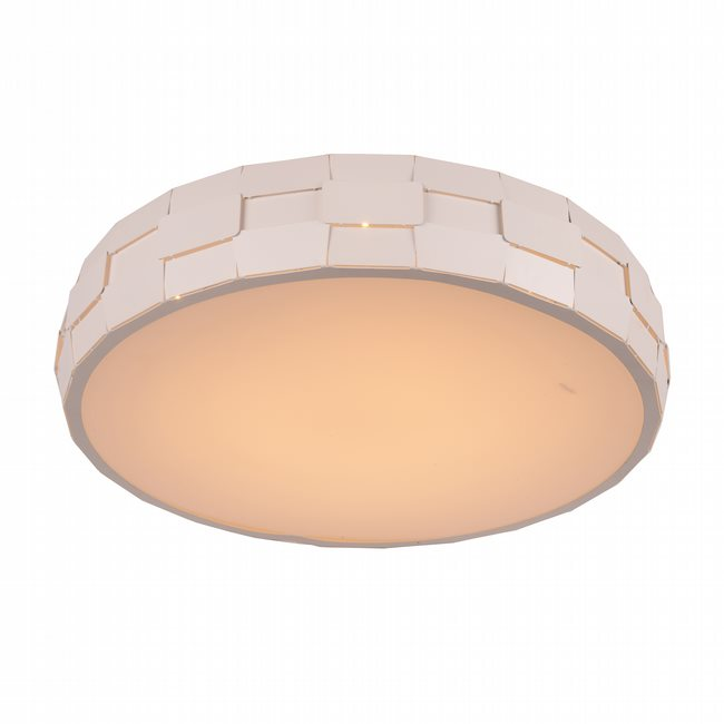 W33543MW23 Mosaic Matte White Opal (Acrylic) Ceiling Light, LEDx36W, 3500K - Discontinued